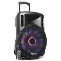 """2e keus - Fenton FT15LED karaoke speaker 800W 15"""" met LED verlichting"""