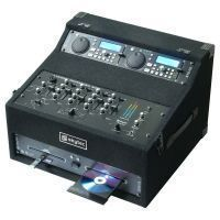 2e keus - STK-300 Dubbele CD-speler Mixer Kit met flightcase