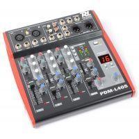 2e keus - Power Dynamics PDM-L405 4-kanaals Live Mixer