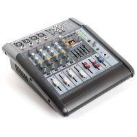 2e keus - SkyTec STL-6 Mengpaneel mixer 6-kanaals met 600W versterker