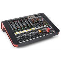 Power Dynamics PDM-M604A 6 kanaals muziek mixer / versterker
