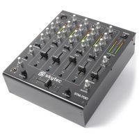 2e keus - SkyTec STM-7010 Mixer 4-Kanaals DJ Mixer met USB