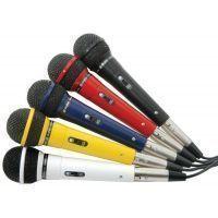 2e keus - SkyTec Set van vijf gekleurde Microfoons