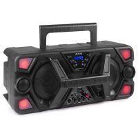 2e keus - Fenton MDJ140 Partystation 200W op accu met Bluetooth & microfoon