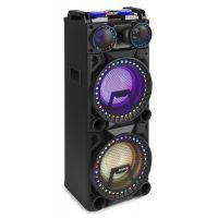 """Fenton VS210 actieve speaker 2x 10"""" met LED lichtshow en Bluetooth"""
