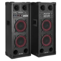 "Fenton SPB-26 Actieve speakerset 2x 6,5"" 600W met Bluetooth"