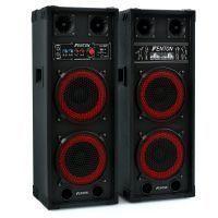 "Fenton SPB-28 Actieve speakerset 2x 8"" 800W met Bluetooth"