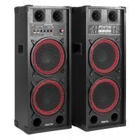 "Fenton SPB-210 Actieve speakerset 2x 10"" 1200W met Bluetooth"