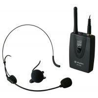 2e keus - VHF Bodypack Zender met daspeld- en hoofdband microfoon 201.4MHz