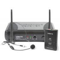 2e keus - Vonyx STWM711H Draadloze headset microfoon VHF