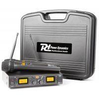 2e keus - Power Dynamics PD782 (UHF) Draadloos microfoonsysteem duo
