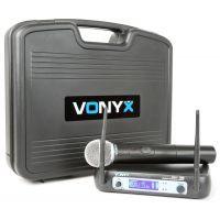 Vonyx WM511 Draadloze microfoon VHF - Enkel