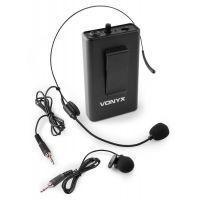 Vonyx BP12 bodypack met headset voor Vonyx UHF systemen - 864.500 MHz