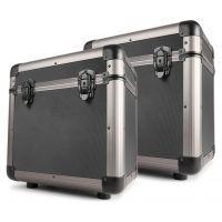 "Power Dynamics RC80 12"" Platenkoffers Titanium (Set van 2)"