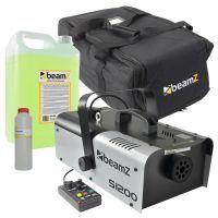 BeamZ rookmachine combipakket met o.a. 1200W rookmachine & tas