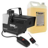 BeamZ RAGE600 rookmachine met 5 liter rookvloeistof