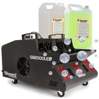 BeamZ SB2000LED rook- en bellenblaasmachine incl. vloeistoffen