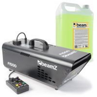 BeamZ F1500 Fazer 1500W inclusief 5 liter rookvloeistof