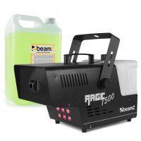 BeamZ RAGE1500LED rookmachine inclusief 5 liter rookvloeistof