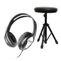 Carlsbro CSS3 Drumkruk en DCN2 hoofdtelefoon met gesloten schelpen