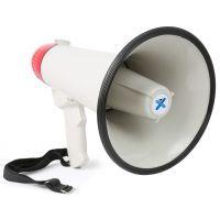 2e keus - Vonyx Megafoon met USB, sirene, record, SD en AUX 45W MEG045