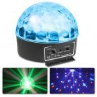 BeamZ Mini Star Ball Sound RGBAW LED 6x3W