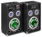 Fenton KA-08 actieve karaoke speakerset 600W met Bluetooth en LED's