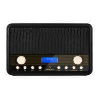 Auna draagbare digitale DAB+ en FM radio met alarm en timer