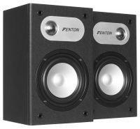 """Fenton SHFB658B boekenplank luidsprekers 5"""" - Zwart (Set)"""