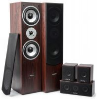 2e keus - Fenton Thuis bioscoop speaker systeem - Walnoot - 5 delig