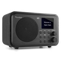 Audizio Milan draagbare DAB radio met Bluetooth, FM radio en accu - Zwart