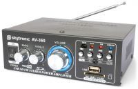 SkyTronic AV-360 USB/MP3 Versterker met afstandsbediening