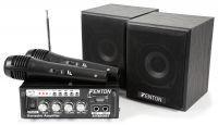 Fenton AV380BT Plug&Play Karaoke set met USB en Bluetooth