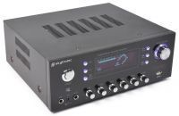 2e keus - SkyTronic AV-120FM Stereo Karaoke versterker met USB