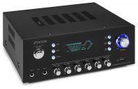 Fenton AV120FM-BT stereo versterker 2x 60W met Bluetooth