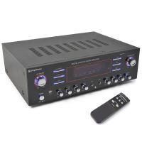 SkyTronic AV-340 5-kanaals USB Versterker met afstandsbediening