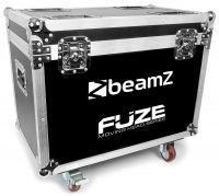BeamZ FCFZ4 Flightcase voor 4 stuks FUZE series moving heads