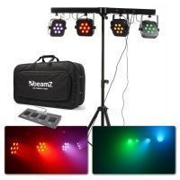 BeamZ Parbar 7x 10W Quad LED