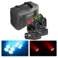 BeamZ MHL36 set van twee LED movingheads in handige tas