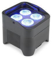 BeamZ BBP94 Uplight PAR spot op accu met 4x 10W LEDs