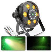 BeamZ BX100 LED PAR met ingebouwde laser en stroboscoop