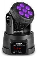 MAX MHL73 LED moving head met 7x 8W LED's - RGBW