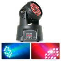 BeamZ MHL108MK2 Compacte moving head 18x 3W RGB LEDs