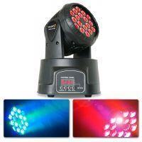 2e keus - BeamZ MHL108MK2 Compacte moving head 18x 3W RGB LEDs