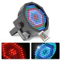 BeamZ FlatPAR 154x 10mm RGBW LED's IR DMX