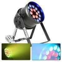 BeamZ BPP205 LED PAR 64 spot met 18x 15W PENTA LED's