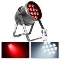 BeamZ BPP220 LED PAR 64 - 12x 12W QUAD LED RGBW DMX + IR