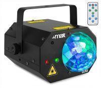 BeamZ DJ10 lichteffect - Jelly Moon met rood/groene laser