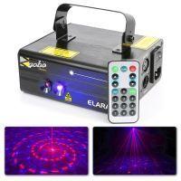 BeamZ Elara Double Laser 300mW rood groen Gobo met afstandsbediening en DMX