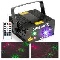 BeamZ Helene laser met rode en groene lasers + blauwe wash LED